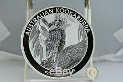 2014 Austrailian Kookaburra 30 dollar kilo silver coin