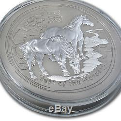 2014 Australia 10 kilo Silver Lunar Horse BU (321.5 oz) SKU #78052