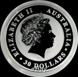 2014 P SILVER AUSTRALIA 32.15 KILO Kg KOOKABURRA COIN IN CAPSULE