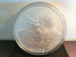 2015 1 Kilo Mexican Silver Libertad Coin (BU)