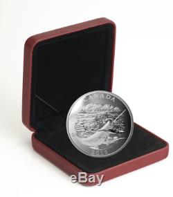 2015 $125 Conservation Series The Narwhal. 9999 Silver Proof Coin 1/2 Kilo