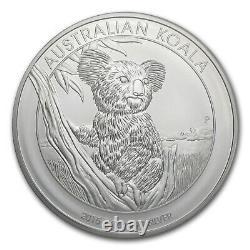 2015 Australia 1 kilo Silver Koala BU SKU #84451
