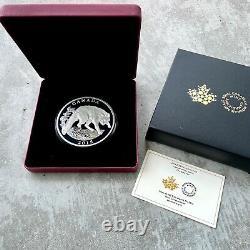 2015 Canada 1/2 Kilo. 9999 Fine Silver Coin $125 Grey Fox