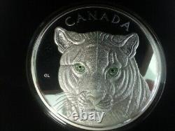 2015 Canada In the Eyes of the Cougar $250 Kilo Fine Silver Coin