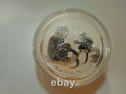2016 1 Kilo Year Of The Monkey Silver Coin Uncirculated