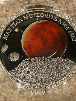 2016 $50 Niue, Mars / Martian Meteorite NWA 6963 KILO coin! Only 99 made