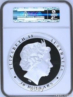 2016 Kookaburra PROOF 1 Kilo $30 Pure Silver Coin Kilogram NGC PF70 MINTAGE 500