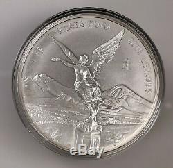 2016 Mexico 1Kg Ley. 999 Plata Pura Mexican Kilo Libertad Silver Coin In Puck