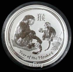 2016 SILVER AUSTRALIA 1 KILO 999 YEAR OF MONKEY COIN 32.11 oz