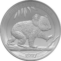 2016 Silver Koala $30 1 Kilo Koala Prooflike Coin 32.15 Oz In Capsule