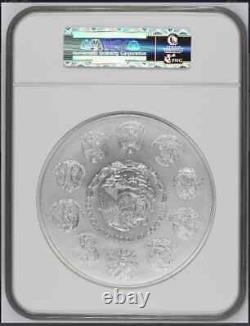 2016Mo Mexico Libertad 1 KILO Silver coin NGC MS70 Early Releases Perfect
