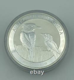 2017 1 Kilo. 999 Silver Australian Kookaburra $30