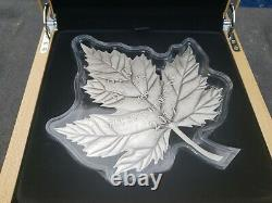 2017 $250 Maple Leaf Forever 1 Kilo. 9999 Fine Silver Coin Royal Canadian Mint