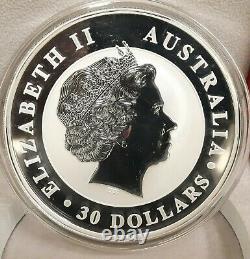 2017 Australia 1 kilo Silver Kookaburra