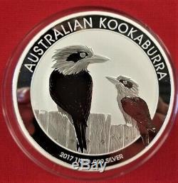 2017 Australia 1 kilo Silver Kookaburra BU (Very Hard to Find)! Beautifull