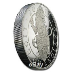 2017 GB Proof 1 kilo Silver Queen's Beasts Lion (Abrasions) SKU#200931