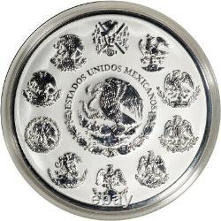 2017 Mexico Silver Libertad 32.15 oz Kilo Reverse Proof in OGP