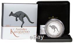 2017-P Australia 1 Kilo Silver Kangaroo Proof $30 Coin In OGP SKU48294