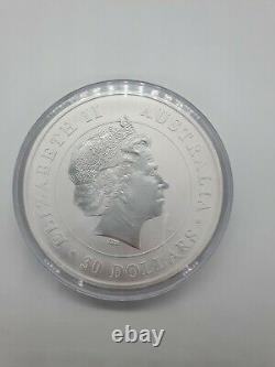 2017 Silver Koala $30 1 Kilo Koala Prooflike Coin 32.15 Oz In Capsule