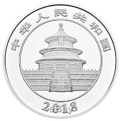 2018 China 1 Kilo Silver Panda Proof ¥300 Coin GEM Proof OGP with COA SKU52790
