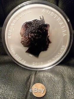 2019 1 Kilo. 9999 Fine Silver Lunar Year Of The Pig In Capsule From Perth Mint