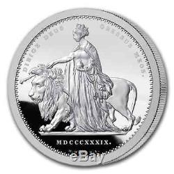 2019 Alderney 1 kilo Silver Proof Una & The Lion SKU#206418