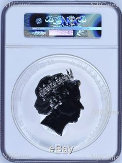 2019 Australia Lunar Year of the PIG 1 Kilo Gemstone Silver $30 Coin NGC MS 69