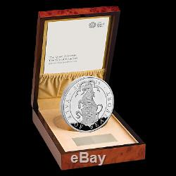 2019 GB Proof 1 kilo Silver Queen's Beasts Yale (withBox & COA) SKU#186789