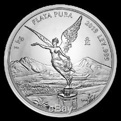 2019 Mexico 1 kilo Silver Libertad BU (In Capsule) SKU#186588