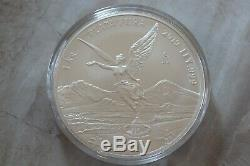 2019 Mexico Kilo Libertad BU, Key Coin, Mintage of 200.999 Fine Silver