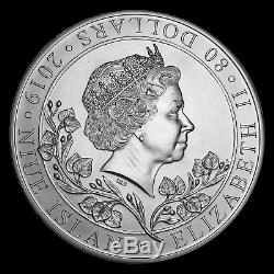 2019 Niue 1 kilo Silver Czech Lion BU SKU#191705