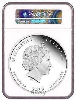 2019-P Australia Year of the Pig 1 Kilo Silver Lunar S2 $30 NGC PF70 UC SKU55144