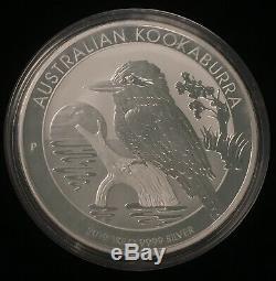 2019 Silver Australian Kookaburra $30 Coin, 1 kilo. 9999 Pure Silver