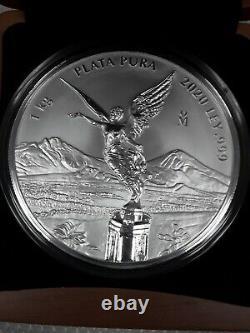 2020 1 Kilo Mexican Silver Libertad Coin proof like