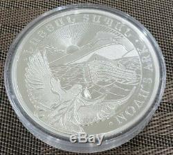 2020 Armenia 1 kilo Silver 10000 Drams Noahs Ark