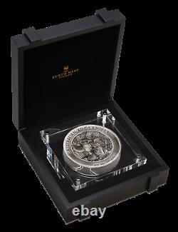 2020 Australia Kookaburra $60 Dollar 1 X 2 Kilo Round Bar 2000 Grams Silver Coin