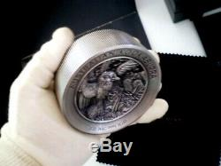 2020 Australia Kookaburra 60 Dollars 1 X 2 Kilo Round Bar 2000 Grams Silver Coin