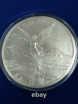 2020 Mexico 1 Kilo Silver Libertad, Limited Mintage Of 500 Coins. 999 Silver
