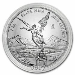 2020 Mexico 1 kilo Silver Libertad BU (In Capsule) SKU#217286