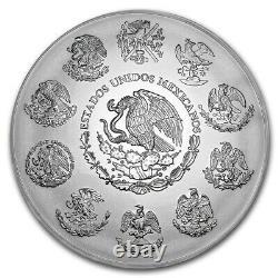 2020 Mexico Libertad 1 Kilo (32.15 oz) Silver LIMITED PRE-SALE BU Capsuled Coin