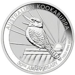 2020 P Australia Silver Kookaburra Kilo 32.15 oz $30 BU