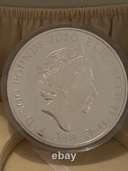 2020 UK Royal Mint Three Graces 1kg (One Kilo) Silver Proof £500 Coin (Mint 100)