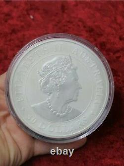 2021 1 Kilo 9999 Silver Australian Koala Coin in Capsule
