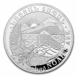 2021 Armenia 1 kilo Silver 10000 Drams Noahs Ark SKU#219478