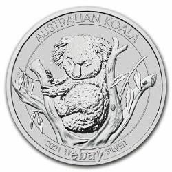 2021 Australia 1 kilo Silver Koala BU SKU#218837