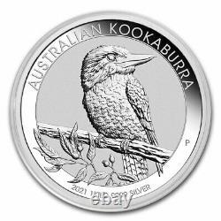 2021 Australia 1 kilo Silver Kookaburra BU SKU#218833