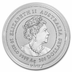 2021 Australia 10 kilo Silver Lunar Ox BU (Series III) SKU#233174
