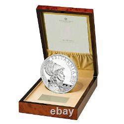 2021 Britannia Premium Executive UK 1kg One Kilo Silver Proof Coin