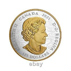2021 Canada Triumphant Dragon 500g (1/2 Kilo). 9999 Silver Coin Only 888 Made