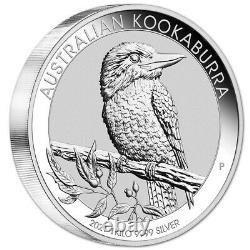2021 P Australia Silver Kookaburra Kilo 32.15 oz $30 BU